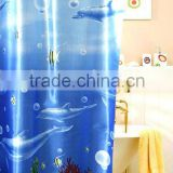 Latest Hot Selling Cat Shower Curtain Fancy Curtain