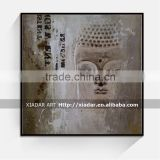 Wall art decor acrylic buddha painting of buddha lord shu118
