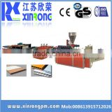 China supplier upvc profile production line/extrusion machine/manufacturers