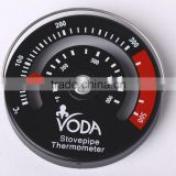 Magnetic fire Stove Top Pipe Thermometer / Temperature Gauge