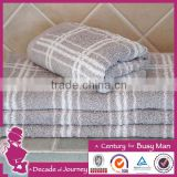 yarn dyed jacquard towels 100% cotton yarn dyed terry jacquard kids face towel with low price