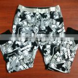 new models wholesale funcy custom printed pajamas for ladies