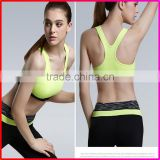 Hot Selling Design custom Wholesale Women Ladies Sexy Mesh Padded Sports Yoga Bra                                                                         Quality Choice                                                     Most Popular
