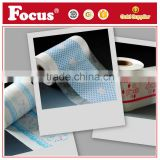 High Quality Cloth like film Custom print Back sheet of Baby Diaper, raw material for diaper