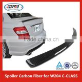Trunk Boot Spoiler Carbon Fiber Wing Lip Fit For B enz C-class W204