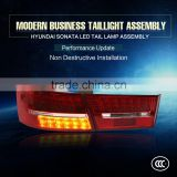 Modified LED Taillamp assembly Update Model 2005-2006 Tail Light Type and 24V Voltage general Type led auto For Hyundai Sonata