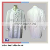 cheap white long sleeve medical cotton lab coat