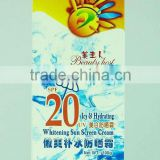 icy hydrating UV multiple sun protection cream SPF20 sunscreen cream sun cream sunblock creammultiple sun protection cream