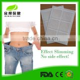 Factory wholesale OEM slimming plaster guarana fat burning patch