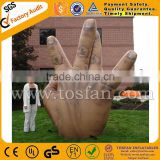 PVC inflatable hand shape for cold air balloon F1102