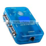 Sharing video switcher VGA SWITCH USB 2.0 KVM 2 Ports Selector VGA Print Auto Switch Box Controller 1920*1440
