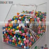 new arrival 2016 desktop clear acrylic candy box for store