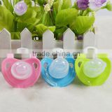 BPA free kids silicone nipple soother baby pacifier with cover