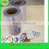 pharmaceutical transparent PVC rigid clear plastic sheets vacuum thermoforming blister packaging