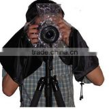 Factory Price DSLR Camera Rain Cover with Carrying Bag Package