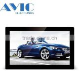 14 Inch Mini Wholesale Stand Digital Photo Frame WIFI Portable LCD AD Player for replacement lcd tv screen