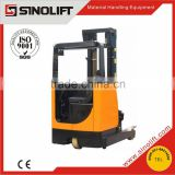 Sinolift 2015 New CQD-H Series Narrow Aisle High Lift Height Electric Reach Truck