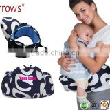 OEM Customised Label Cotton Canvas Good and Cheap Baby Waist Hipseat Carrier Pouch China Factory Suppliers