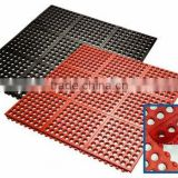 Oil resistant interlocking rubber matting anti fatigue workshop rubber flooring mat anti skid rubber mat
