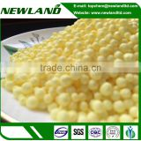 High purity granular N37 sulfur coated urea
