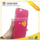 rfid blocking cell phone case with business card holder