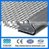 malla/316L /904L stainless steel crimped screen mesh used as filter parts/pcs of crimped mesh screen/crimped wire mesh