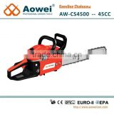 agricultural tools 1.8kw gasoline chainsaw 18 inch oregon chain-yd45 chain saw spare parts