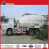 CHINA 2014 bulk cement / powder material transport truck tank tanker semi trailer / semitrailer
