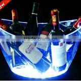hot supply OEMplastic led ice bucket for beer promotional project