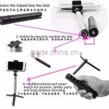 2015 new Multifunctional Snap-together Bluetooth Monopod Suit RK908