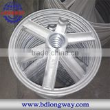 Chinese supplier for oem high quality ductile gray iron sand cast iron hand wheel