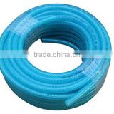 "high quality abrasion resistance flexible 1/4""(11mm*6mm) blue PVC hose for various industry"