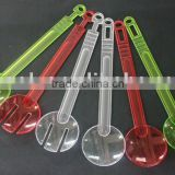 Colorful acrylic salad spoon and fork set