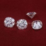 6*6mm cushion EF VVS white moissanite loose stones