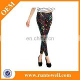 Factory price high quality sexy Print Leggings