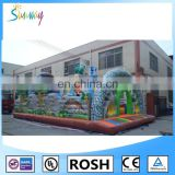 SUNWAY 2016 Wholesale Inflatable Cartoon Jumping Bouncer House Inflatable Castle for Kids and Adults Play
