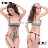 Hot Sale Comfortable Sexy Black Transparent Teddy Fat Women China Sleepwear Women Suppliers