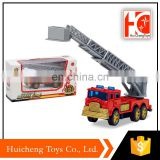 2017 alibaba online shopping diecast long ladder fire truck toy form china