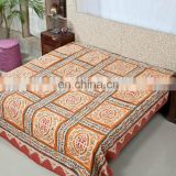 New handmade printing wedding bedding set cotton comforter set bedsheet