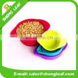 colorful Collapsible Silicone Measuring food bowls