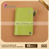 china leather suppliers promotional wholesale custom business credit card holder
