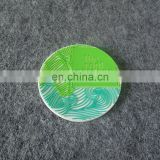 wholesale custom embossed logo rubber drink coaster for home decoration