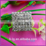 Trade assurance Supplier Bailange China wholesale new fashion crystal rhinestone buttons flat back