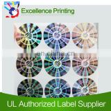 2d/3d laser hologram label for free sample