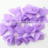 Lilac Chiffon Flower by yard for Girl Dress