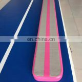 taekwondo custom inflatable Judo Training tumbling mat 8m gymnastics air track for sale airtrick