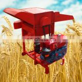 small Mobile grains thresher rice thresher with wheels for mini thresher machine