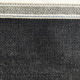 Competitive Price 14.3oz Black Selvedge Denim Jacket Jeans Fabric W93831