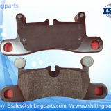 D1453 Porsche brake pad,ceramic brake lining,friction coefficient:0.39