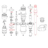 diesel engine fuel injector 0 445 120 081 for XiChai 6DF、4DF